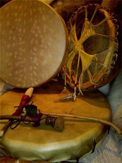 tambour chamanique pour LIENS